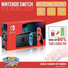 Nintendo Switch Neon Joycon New Model | Máy game Nintendo Switch chính hãng