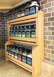 How To Build A Spice Rack Classy Build Countertop Spice Rack Plans DIY Diy Wood Planter Primitive