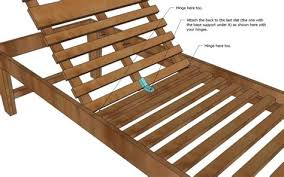 wood chaise lounge. Diy Homemade Wood Chaise Lounge