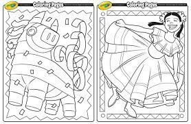 6 pcs cinco de mayo fiesta fabric sombrero headbands party costume for fun fiesta hat party supplies, luau event photo props, mexican theme decorations, dia de muertos and party favors. Cinco De Mayo Coloring Pages Printables 4 Mom