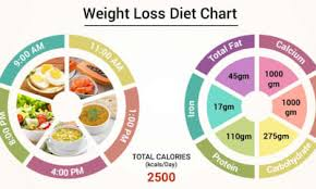 Diet Chart For Weight Loss Patient Weight Loss Diet Chart