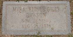 Myra Reeves Gills Dawson (1890-1976) - Find A Grave Memorial