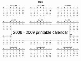 Simple Calendar Template 2015 Free 2008 Printable Calendar Template