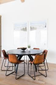 homey inspiration dining room leather chairs unique modern best 25 ideas on blue