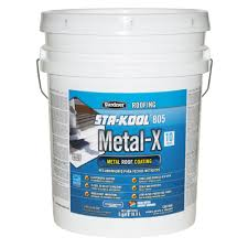metal roof coating 5 gal reflective paint rust resistant seals protects expands