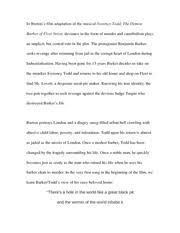 essay on edward scissorhands tim burtons edward scissorhands is  3 pages essay on sweeney todd