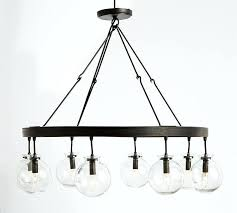 globe light chandelier 6 light globe chandelier globe light chandelier
