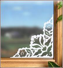 naples etched glass corner accent
