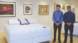 city mattress naples. Delighful City City Mattress CEO Stephen Schiller Left And President Marc Schiller At  Their Naples Showroom On S