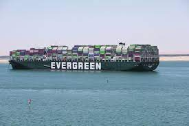 Akkoord over 'Ever Given', vertrek uit Suezkanaal ophanden