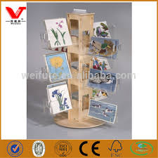 Wooden Greeting Card Display Stand Awesome Design Wooden Greeting Card Display Standsacrylic Shelf Holder For