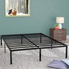 Bed base with drawers Wood Classic Metal Platform Bed Frame Gumtree Bed Frames Youll Love
