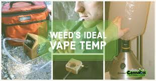 best vape temp for weed