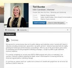 Tech Waffles Linkedin Summary Examples For Mba Students