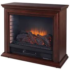 5200 btu 32 inch wide vent free electric mantel fireplace