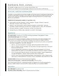 Social media managers oversee an organization's social media activities. Social Media Resume Sample Monster Com