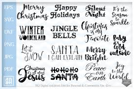 Freeicons is a free platform for download vector icons in svg, png, eps, ai and psd format. Christmas Sayings Bundle Svg Christmas Quotes Bundle Svg 160216 Svgs Design Bundles