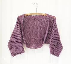 Crochet Shrug Pattern Beauteous 48 Free Crochet Shrug Patterns AllFreeCrochet