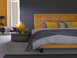 Bedroom: Gray And Yellow Bedroom Inspirational Purple Yellow And Grey  Bedroom Decosee - Gray And