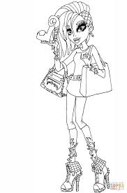 Small Picture Venus McFlytrap I Love Fashion Doll coloring page Free