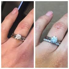 Which Wedding Band Ring Plain Or Diamond Poll Please Help Pros