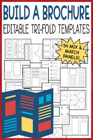 Editable Brochure Templates Us History Brochure Template