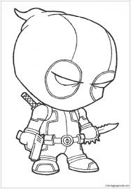 Swimming safety coloring sheets pages download print free deadpool. Baby Deadpool Coloring Pages Deadpool 2 Coloring Pages Free Printable Coloring Pages Online