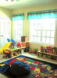 Decorations:Comfortable Kids Playroom Design With Beauteous Rug Design And  Many Toys Ideas Comfortable Kids