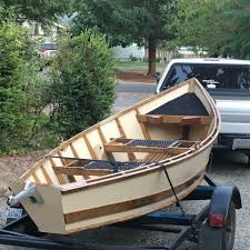 custom built 16ft wood drift boat 5yrs old and has never been used or seen water includes the trailer oars oar locks and 35lb pyramid anchor