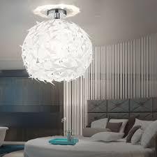 Kugel Led Decken Pendel Hänge Lampe Design Leuchte Blätter