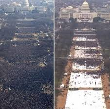 trump inauguration crowd size fox trumps inaugural tv audience smaller than obamas by 18 percent