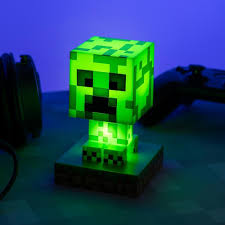 Minecraft Creeper Icon Desk Light ...