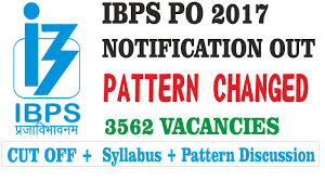 ibps po 2017 recruitment notification out new exam pattern pdf