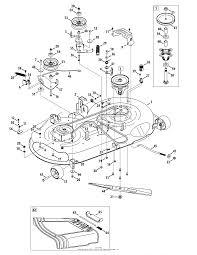 MTD 13AL78XT099 (247.203740) (T1600) (2014) Parts Diagram for Mower Deck