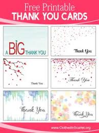 Thank You Cards Design Your Own Design Your Own Printable Thank You Cards Download Them Or Print