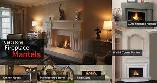 cast sotne fireplace mantles