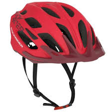 Rockrider St 500 Mountain Bike Helmet Red