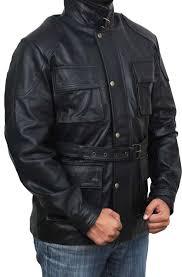 black belted long jacket