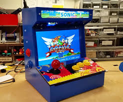 4 Player Arcade Cabinet Kit Diy Arcade Cabinet Kits More The Build Page