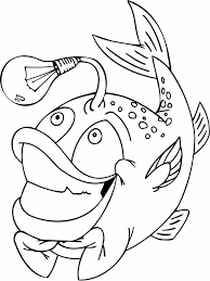 Small Picture Cute Cute Fish Coloring Pages Loaves And Fish Coloring Page