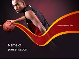 Basketball Powerpoint Template Basketball Theme Powerpoint Template