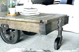 factory cart coffee table industrial farmhouse coffee table factory cart coffee table from a industrial home factory cart coffee table