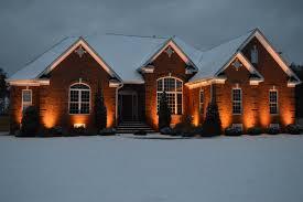 virginia outdoor lighting house lighting in winter