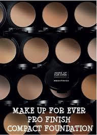 make up for ever pro finish pact foundation an introduction