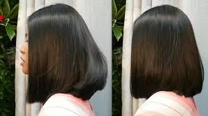 Bob Haircut Tutorial ตดผมบอบแบบมดได Best Hairstyles