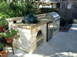 big green egg cabinet cooking island source a outdoor kitchen ideas traditio