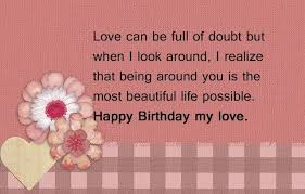 Happy Birthday Love Quotes Classy 48 Exclusive Happy Birthday Boyfriend Wishes Quotes BayArt