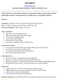 Student Sample Resumes Resume High School Student Best Of Resume for High School Student 32