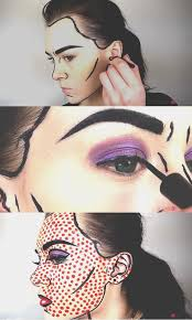 insram worthy makeup ideas pop art ic book makeup tutorial