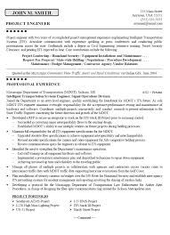 Residential Structural Engineer Sample Resume